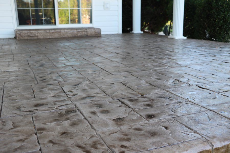 stamped concrete tampa