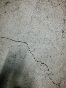 cracks from cold weather