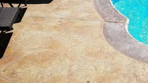 stamped concrete pool deck tampa