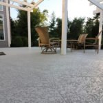concrete patio ideas tamps