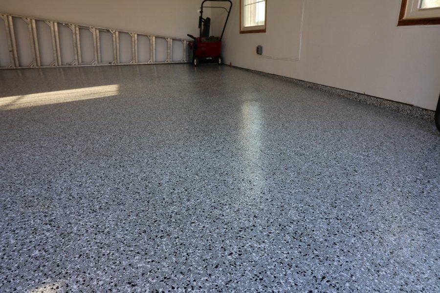 grey epoxy flooring tampa
