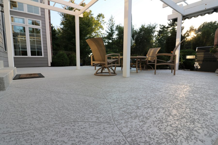 concrete patio ideas tamps
