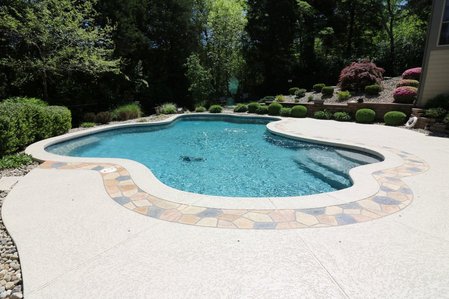concrete pool deck ideas tamps