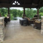 stained concrete patio tampa