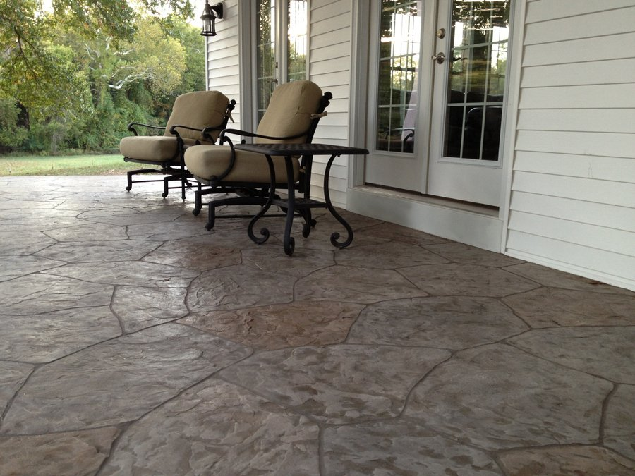 stamped concrete patio tampa