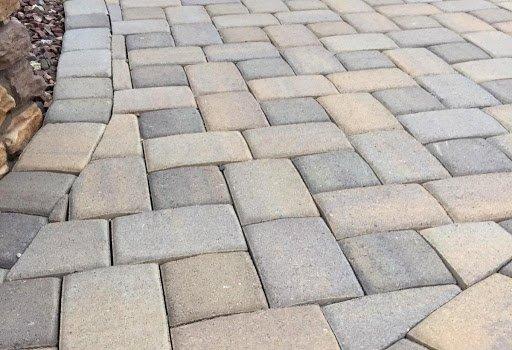 decorative concrete pavers tampa